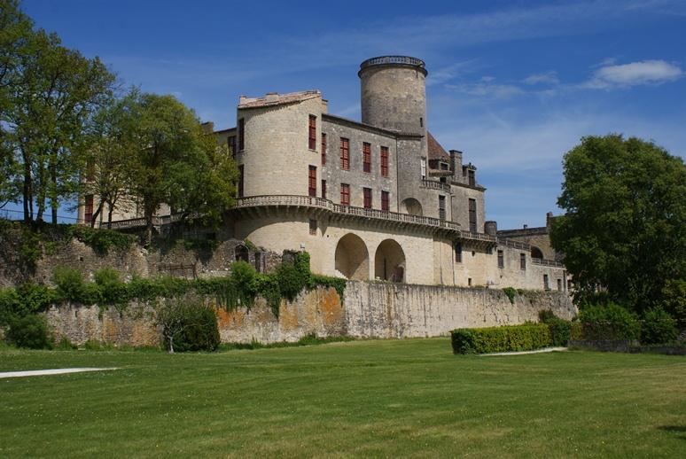 Château Duras façade sud 2012