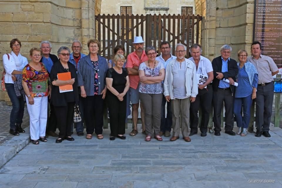 Duras association du Château équipe 2015