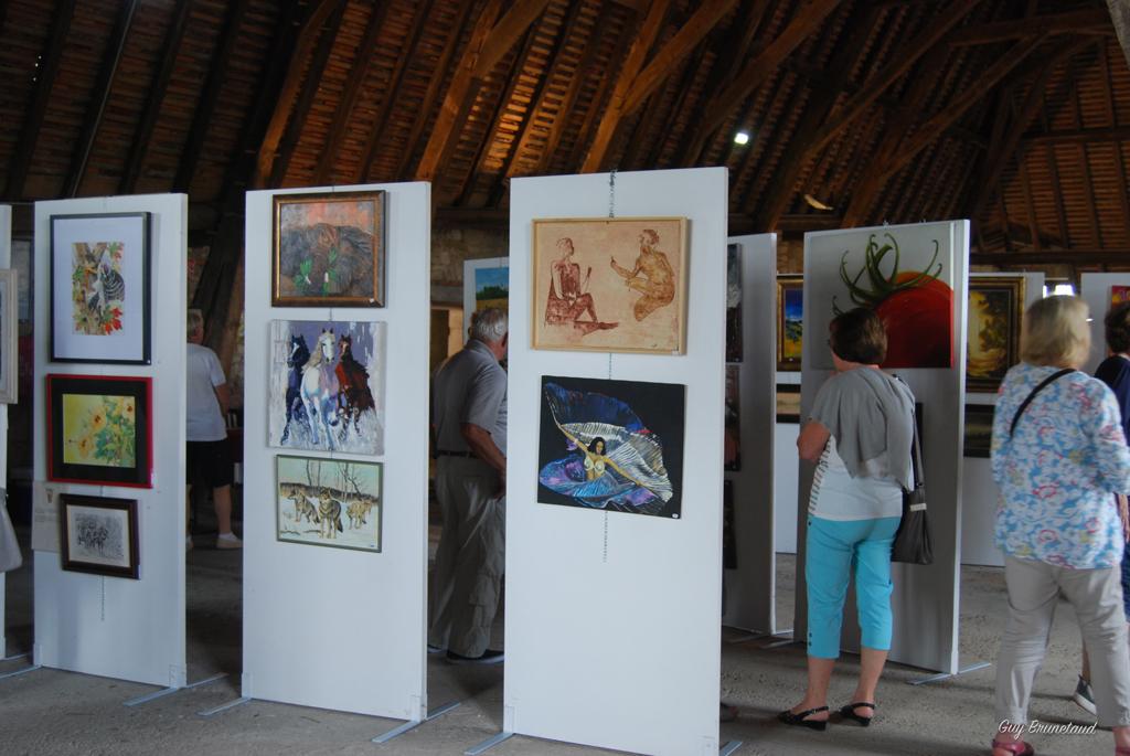 Exposition peintures et sculptures au château