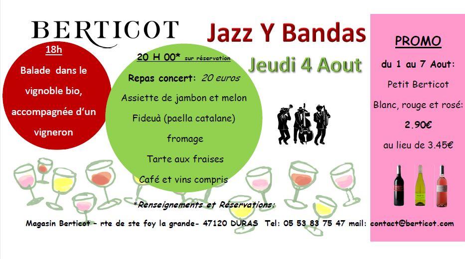 Jazz'Y banda Berticot