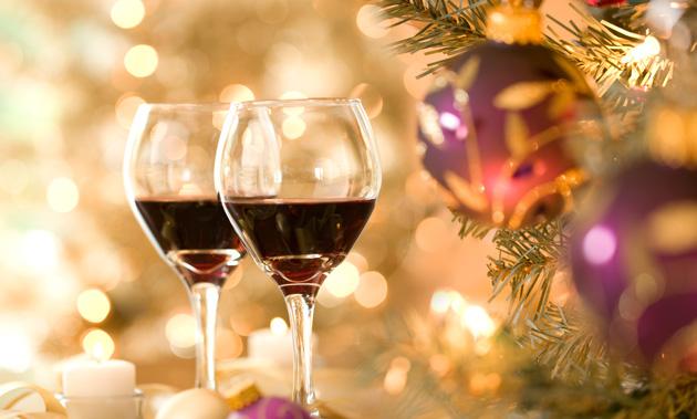 Marché Noël chez les vignerons