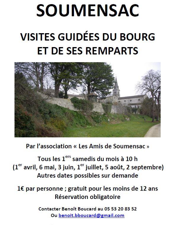 Visite guidée Soumensac