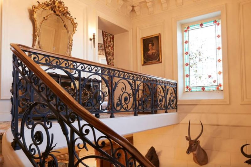 chateau-lagrave-bechade Escalier