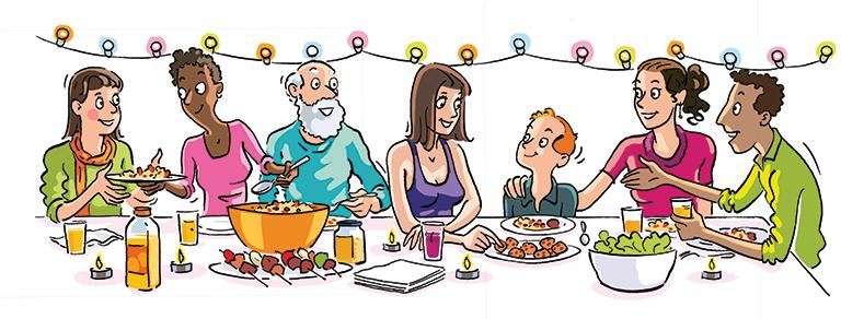 Repas des voisins